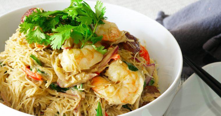 Coconut Curry Noodles