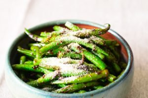 funky spicy green beans
