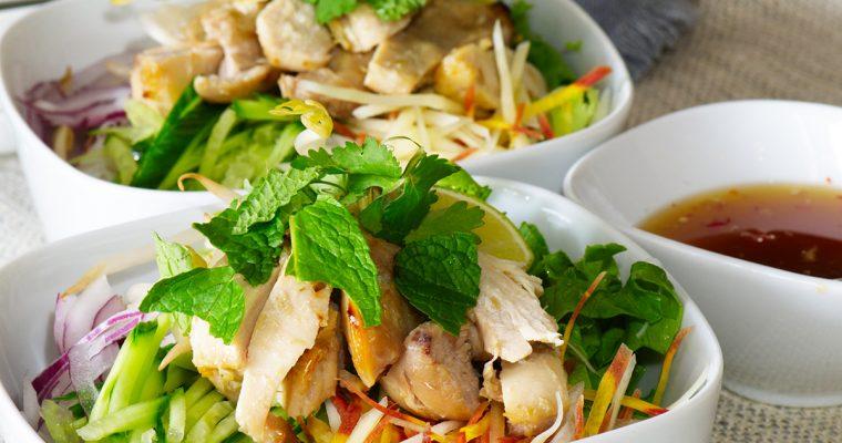 Lemongrass Chicken Noodle Bowls