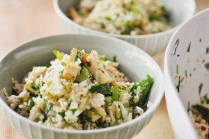 lemongrass rice salad