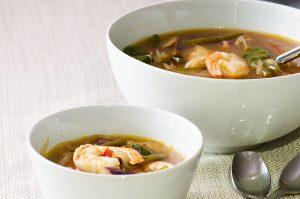 sinigang shrimp soup
