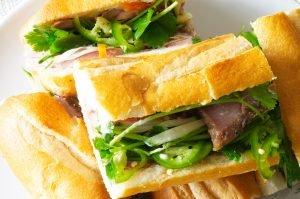 bahn mi sandwich