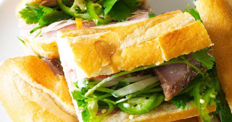 Bânh Mì Sandwiches