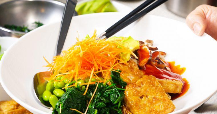 Ginger Tofu Grain Bowl