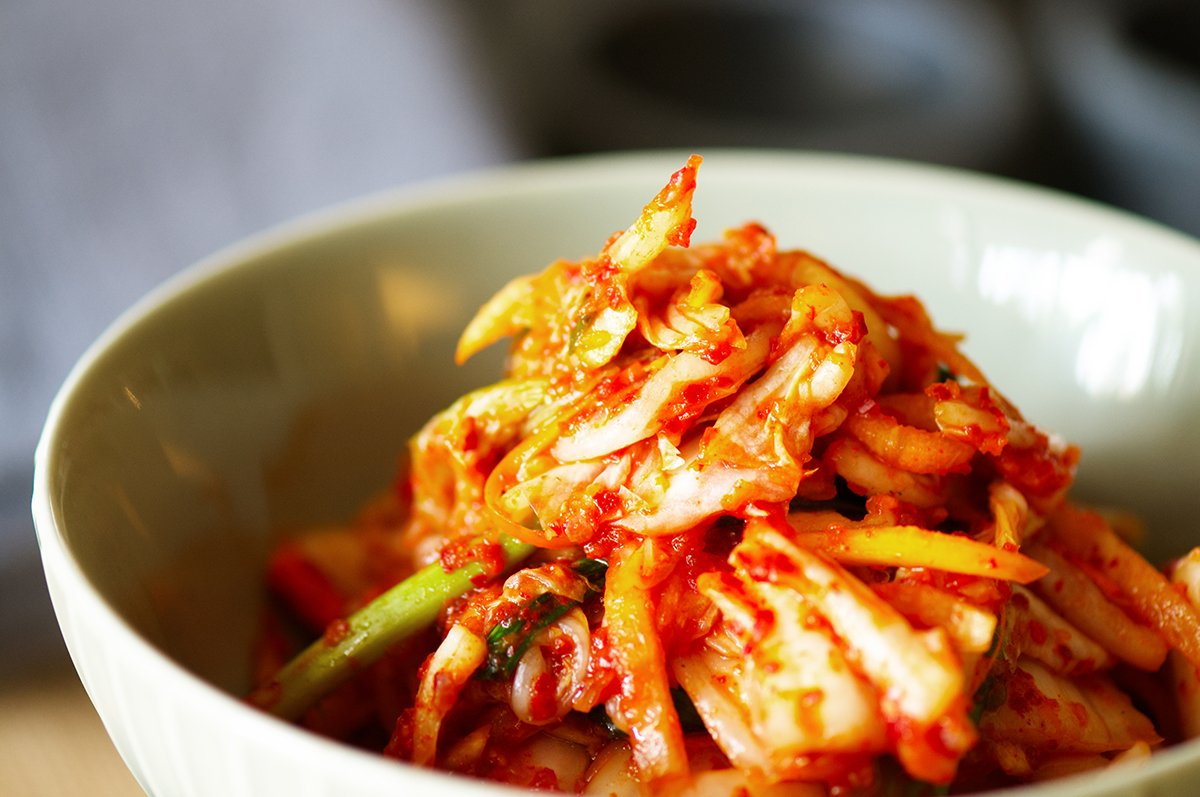 kimchi closeup
