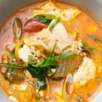 recipe card kimchi stew