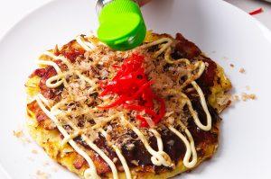 okonomiyaki toppings