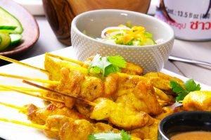 chicken satay feature
