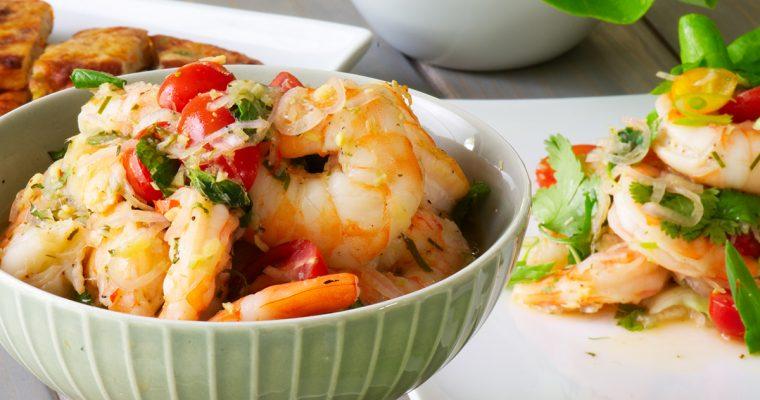 Thai Shrimp Salad (Pla Goong)