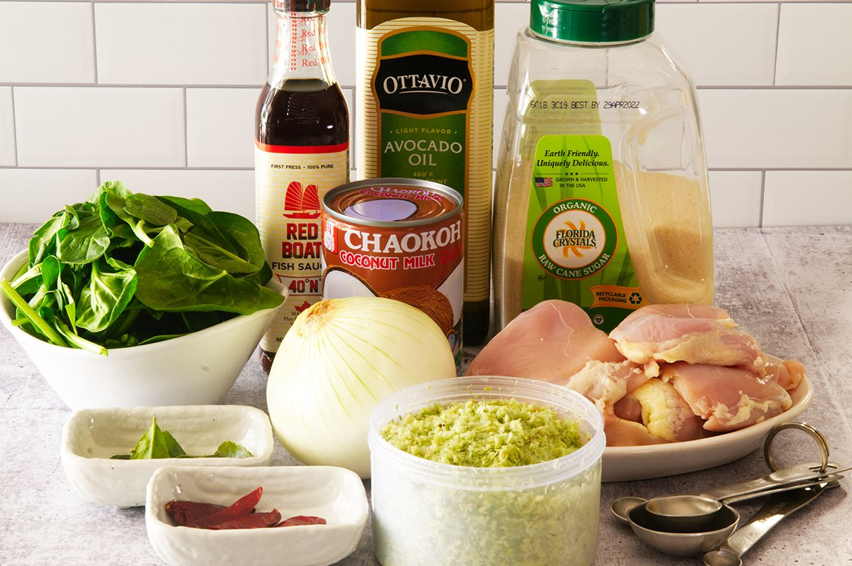 thai coconut chicken ingredients