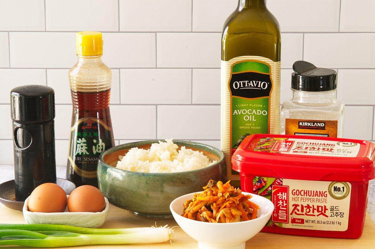 kimchi rice ingredients