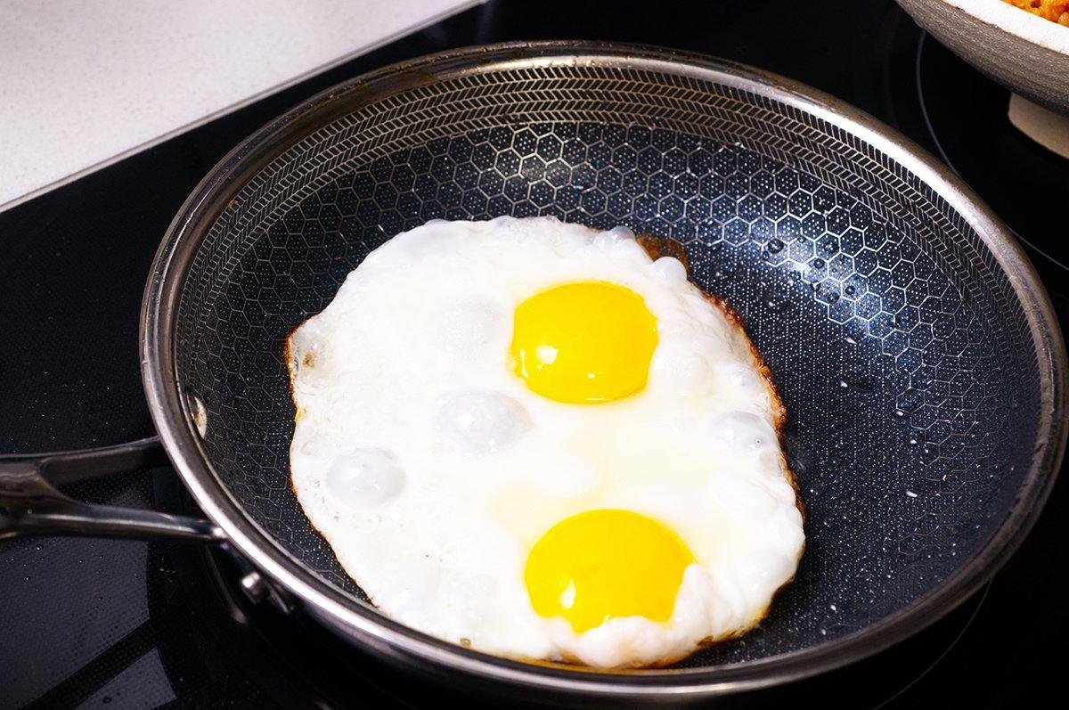 kimchi rice eggs