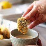crispy shiitake katzu recipe card