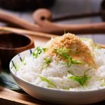 coconut rice recipe card