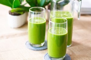 green smoothie feature