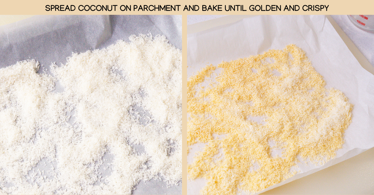 flakes coconut rice