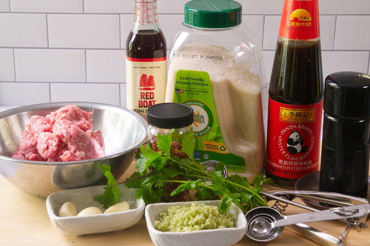 vietnamese meatballs ingredients