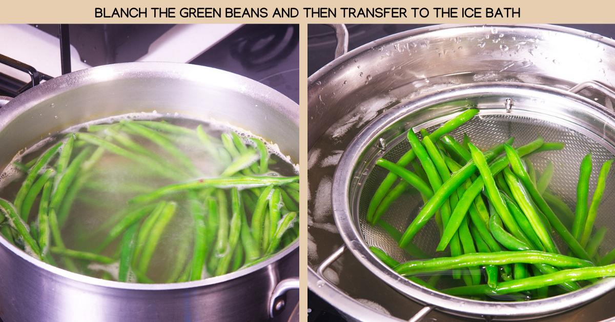 green beans gado gado