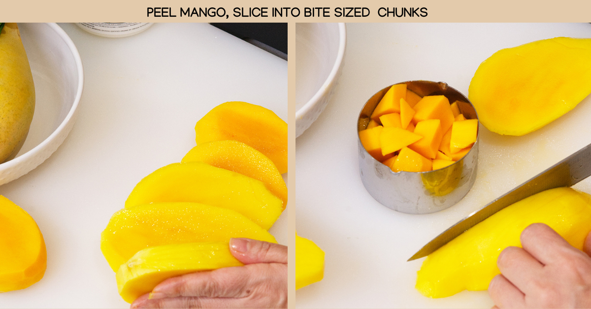 chunks mango lassi