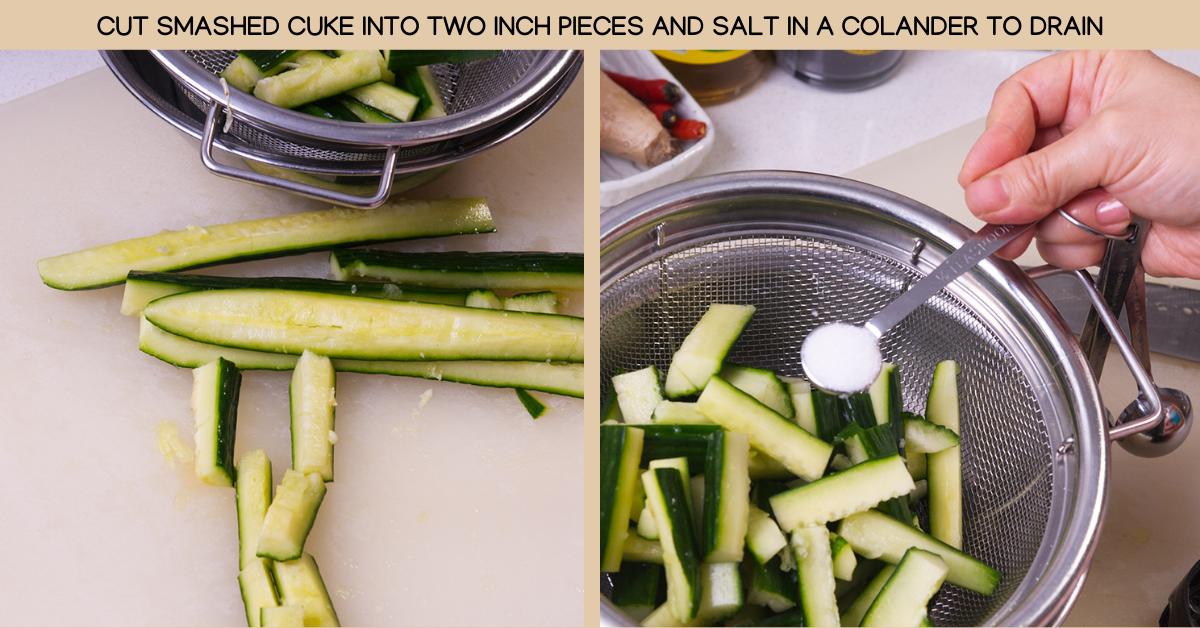 salt szechuan cucumbers