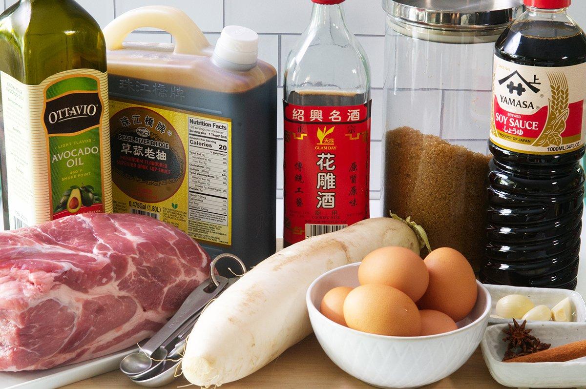 chinese red pork ingredients
