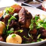 chinese red pork recipe card