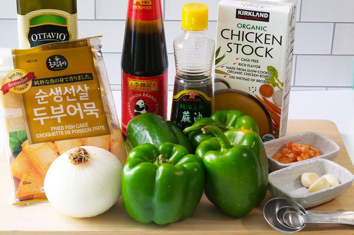 braised peppers ingredients