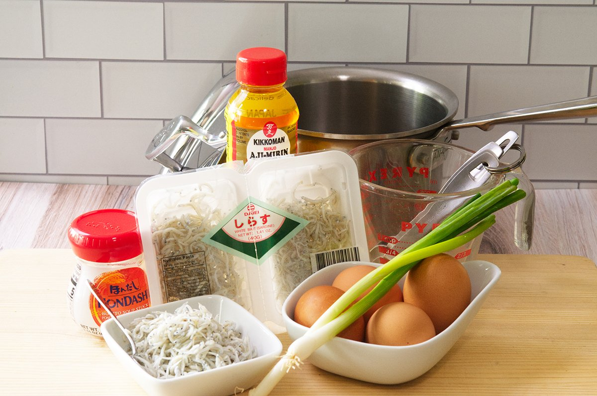 egg souffle ingredients