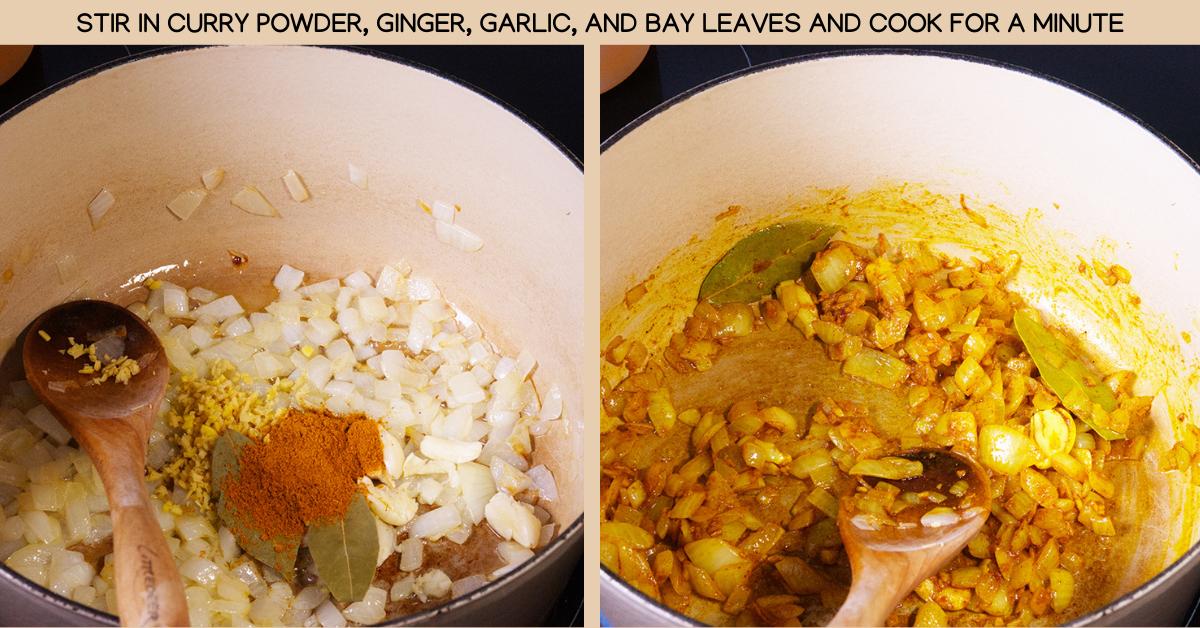 curry kabocha soup