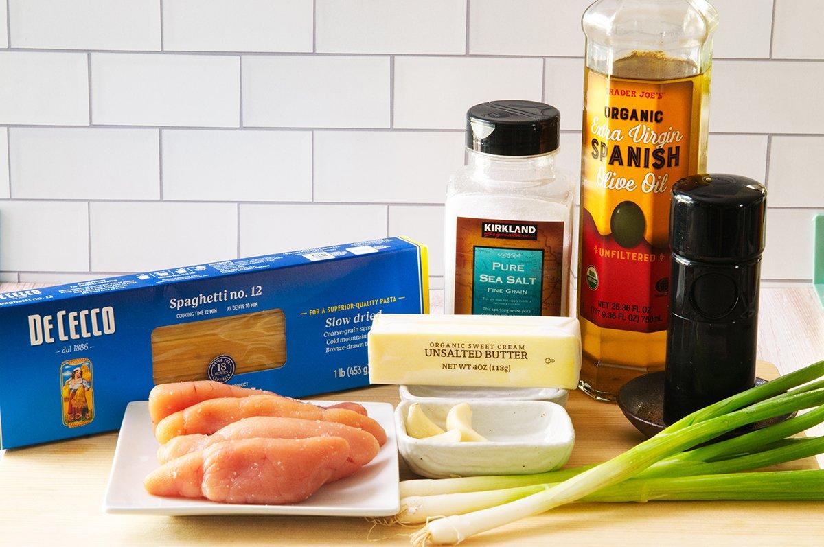 tarako spaghetti ingredients