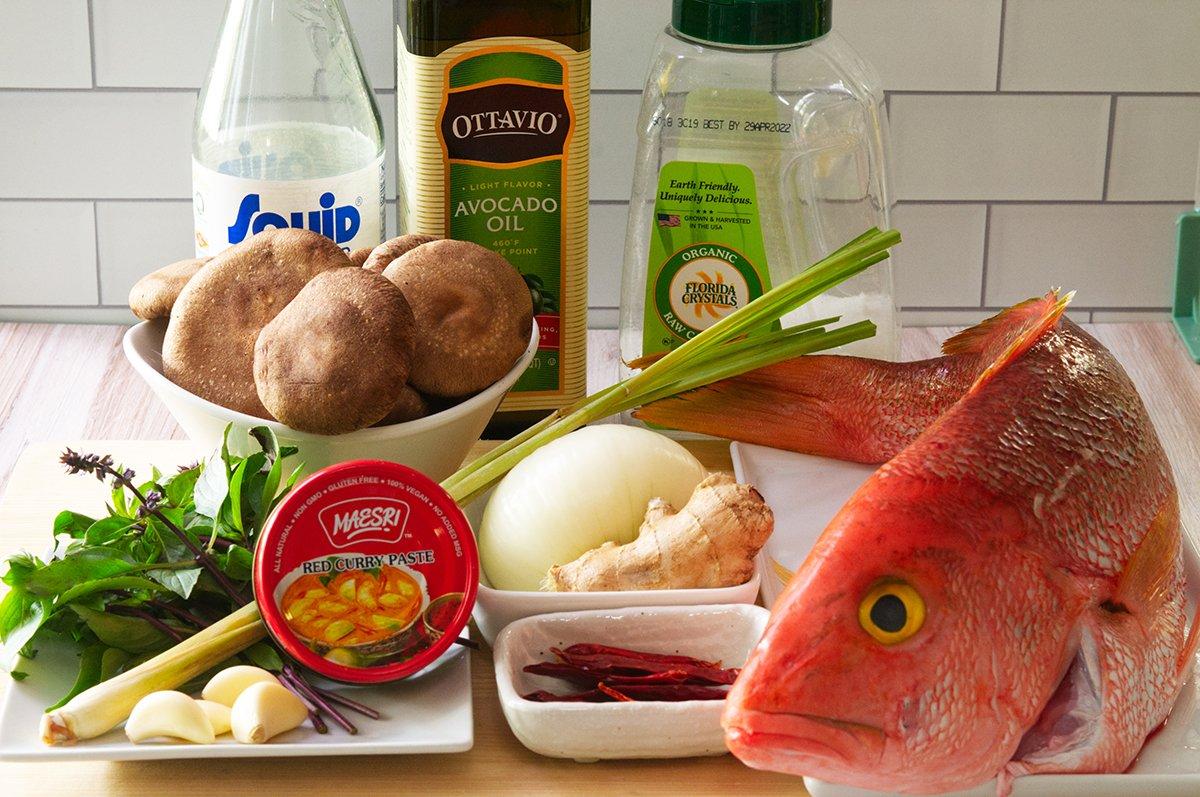 spicy thai fish ingredients