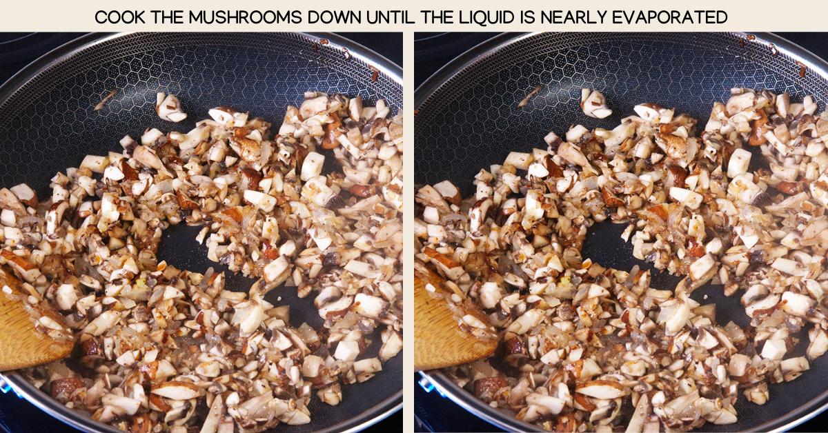 liquid mushroom dumplings