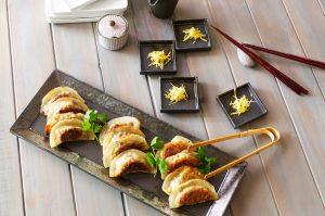 feature mushroom dumplings