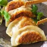 recipe card mushroom dumpling