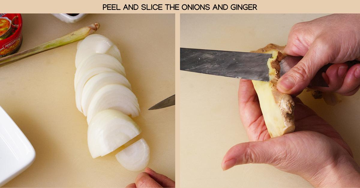 onion ginger spicy thai fish