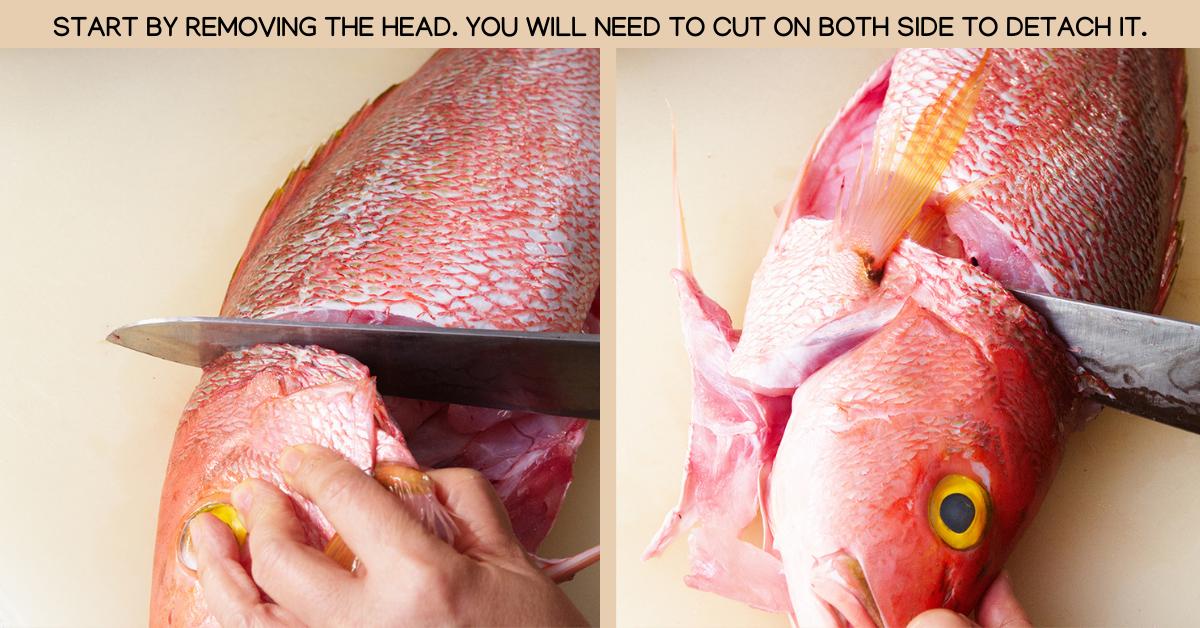 head spicy thai fish